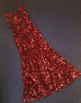 Продам яркое бархатное вечернее выпускное платье в пайетках 48р L-XL