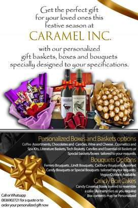 Personalized Gift Baskets and Bouquets