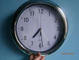 zegar chromowany