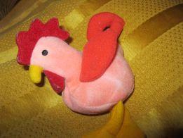 детская игрушка петух петушок фирменный шарики внутри как новый птица