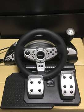 GAMEON PS3/PS2/PC STEERING WHEEL FOR SALE OR TRADE FOR CELLPHONE