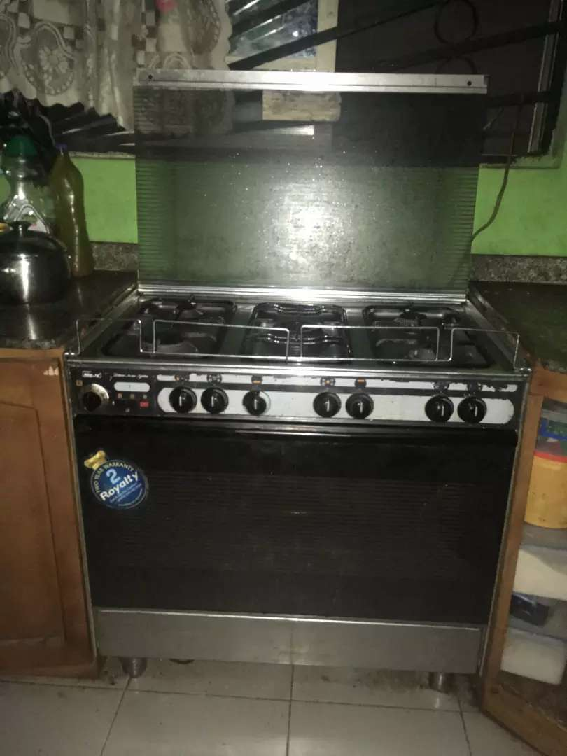 Royalty 5 burner all gas cooker 0