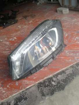 Mercedes Benz A176 redring headlights