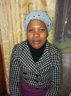 Lesotho cleaner/housekeeper with refs needs stay in work.