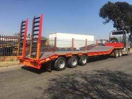 Various New Flatdeck Lowbed Trailers for sale