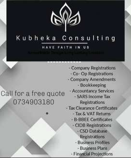 CK / (Pty) Ltd New Company Registrations