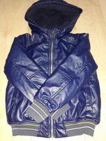 Куртка из эко кожи на рост 118