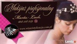 Profesjonalny makijaż ślubny i fryzura ślubna