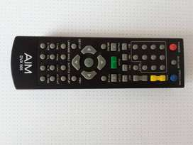 Remote Control AIM DVX 505 for DVD Player. In working condition.