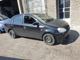Toyota etios 2015 model breaking up for spares