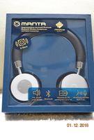 Bezprzewodowe Słuchawki Bluetooth MANTA HDP9009