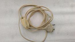 Провод с выключателем и вилкой производства СССР.