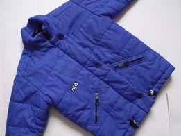 Теплая зимняя куртка на девочку, рост 122-134 см.(6-7 лет)