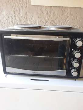 Two plate mini oven