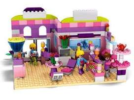 Cogo Girl Series Ice Cream Shop 317 Pcs Building Block Sets For Girls