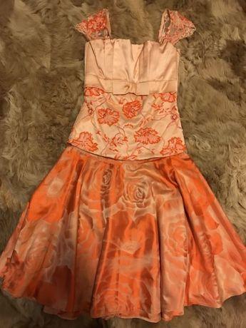 Продам нарядный комплект корсет и 2 юбки. Ручная вышивка! 34-36 размер Одесса - изображение 5