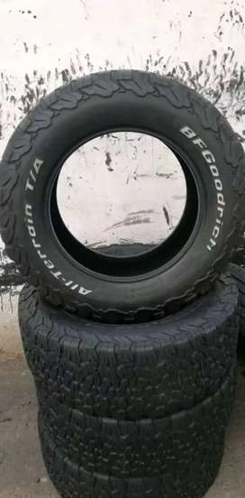 4×265/60/18 BF Goodrich KO2 tyres for sale