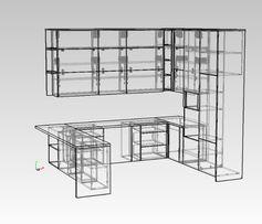 Конструктор мебели, проектирование, подача на вияр