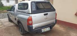 Opel Corsa bakkie with canopy