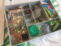Заготовки цветы для рукодельниц скрапбукинг скрап материалы бусины