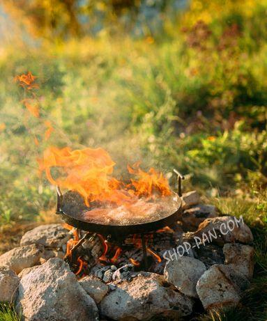 Сковорода из диска борони для пикника 50см, костра дискової борони ОПТ Харьков - изображение 3