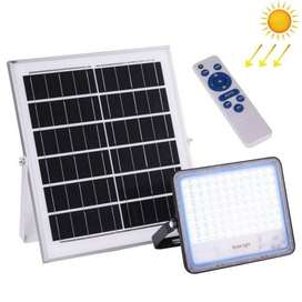 200W Solar Powered Timing LED Flood Light with Remot