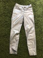 Srebrne spodnie H&M r.36, nowe