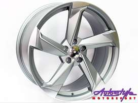 20 inch mags suitable for Audi A4, VW Tiguan and Touran 5 112 pcd 5 ho