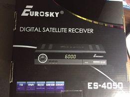 спутниковый ресивер Eurosky 4050 тарелка