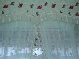 Шторы,гардины,ламбрикены,римские шторы ,японские шторы ,кафешки , покр