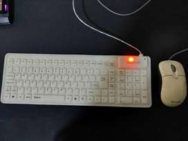 Flexible Baobab Keyboard with mouse