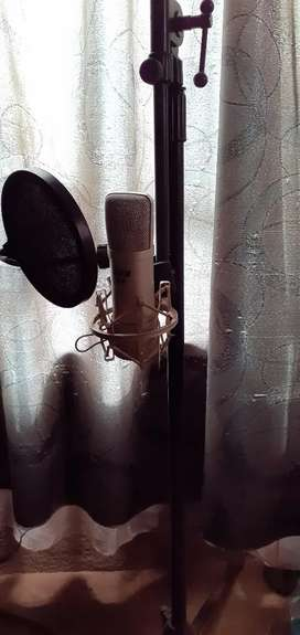 Hybrid c1 studio microphone condenser and mic stand