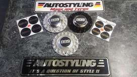 AUTOSTYLING EL-BBS CAPS-BLK/SILVER - BIG SELECTION OF MAGS & TYRES TOO