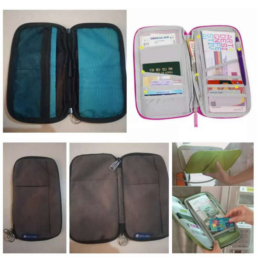 Travel Multi Function Outdoor Bag for Cash Passport Card Phone  Wallet 0
