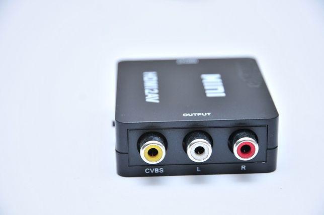 Конвертер ЦАП HDMI to AV RCA(тюльпаны) адаптер 1080p 720i HDMI2AV Днепр - изображение 4