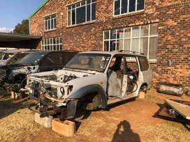 Landcruiser Prado 95 series breaking for parts