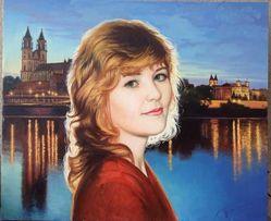 Портрет на заказ , заказ портрета с фото.