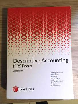 Descriptive Accounting IFRS Focus 21st Edition