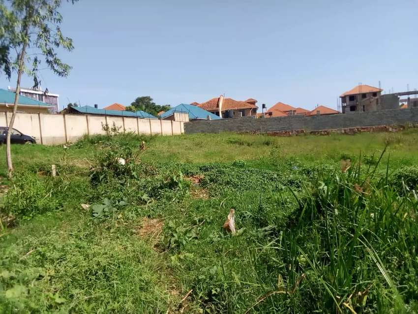 25 decimals plot on forced sale munyonyo with private mile land title 0