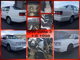 VW Jetta 3 1.6, 1998 spares and engine for sale.