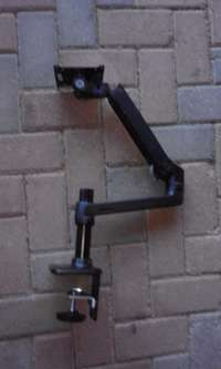 Image of HP single arm monitor mount