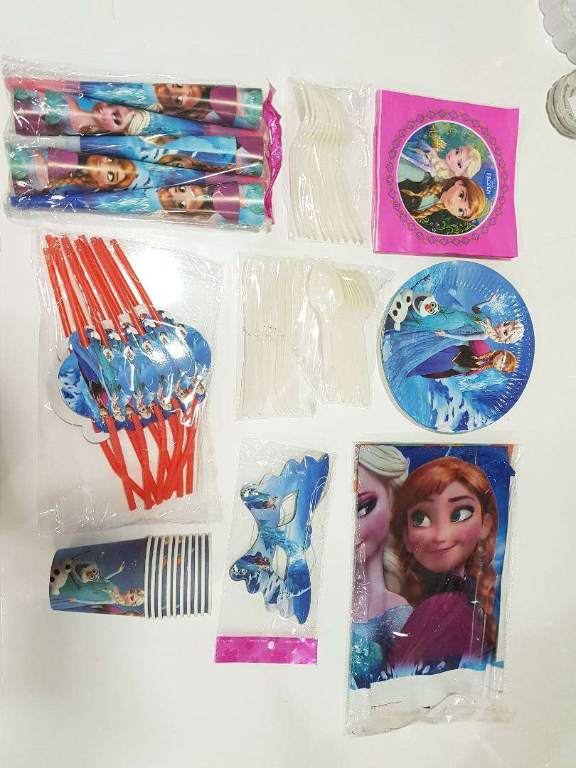 Kiddies party packs for sale 0