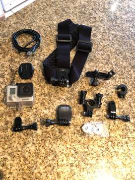 GoPro camera with accessories for sale