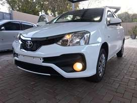 This is a standard etios that has been well kept