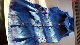 Джинсове плаття,сарафан