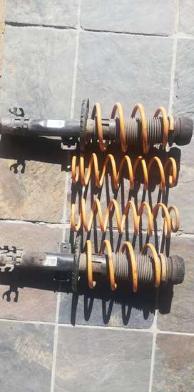 Coil springs for Polo 6 (sports coils)