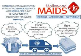 We offer a free collect and delivery.
