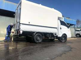 H100 truck with a canopy