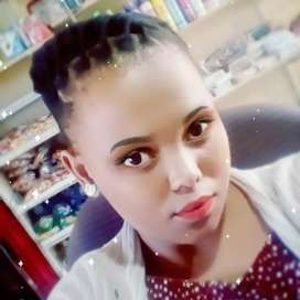 Kelebohile Falten looking for a job as a house keeping