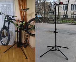 Ремонтная стойка для велосипеда. Стенд для ремонта велосипеда дома